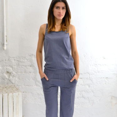 Jumpsuit Long – Blueberry