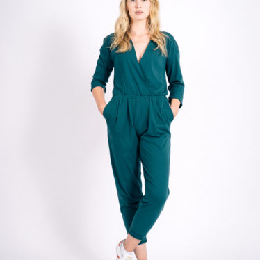 Jumpsuit Twist Longarm (green)