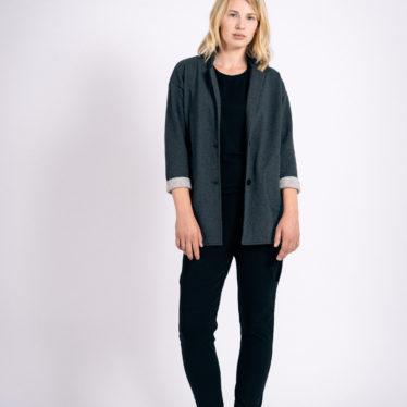 Jacket Oversize UNI ( Grau Meliert )