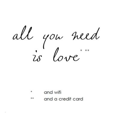 All You Need…