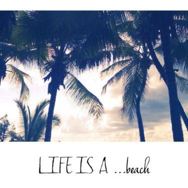 Life Is A… Beach