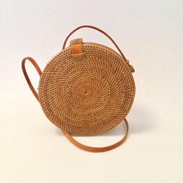 Balitasche – Big Round Bag Lederclip