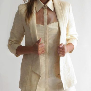 BLAZER 3/4 – Organic & Non-violent Silk