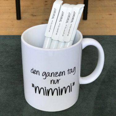 """KUGELSCHREIBER Den Ganzen Tag Nur """"mimimi"""""""
