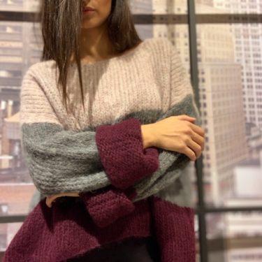 Pullover ARCOIRIS Beere