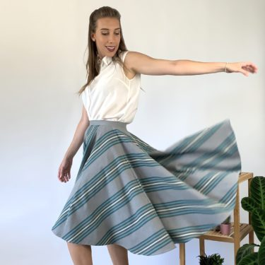 MIDI CIRCLE SKIRT – Organic Cotton